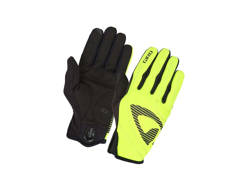 Luvas Giro Blaze Yellow Black